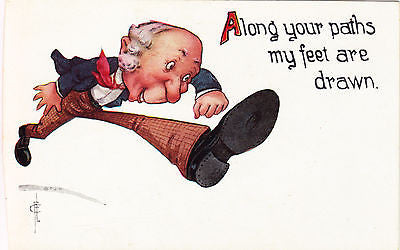 Along Your Paths Comic Postcard - Cakcollectibles