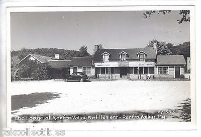 RPPC-The Lodge of Renfro Valley Settlement-Renfro Valley,Kentucky - Cakcollectibles