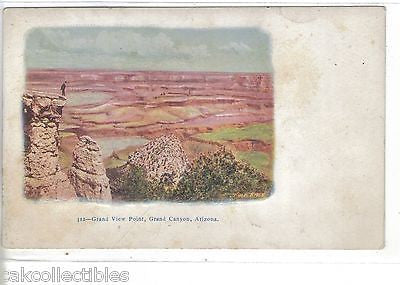 Grand View Point-Grand Canyon,Arizona  UDB - Cakcollectibles - 1