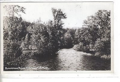 RPPC-Boardman River-Traverse City,Michigan - Cakcollectibles - 1
