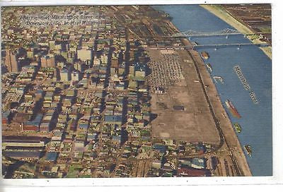 Aerial View-St. Louis,Missouri 1957 - Cakcollectibles