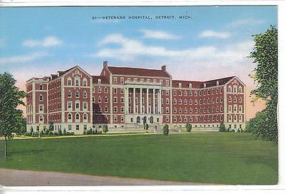 Veterans Hospital-Detroit,Michigan - Cakcollectibles