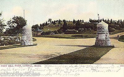 Fort Hill-Lowell,Massachusetts 1906 - Cakcollectibles