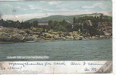 Buttermilk Falls and Cranstons-Hudson River 1906 - Cakcollectibles