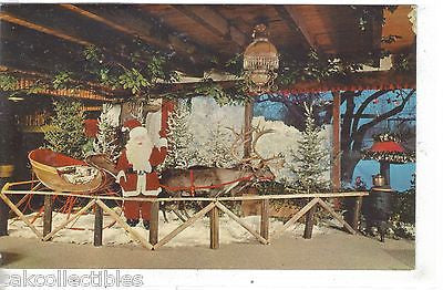 Santa Claus at The Rustic Manor Restaurant & Old Mill Cocktail Lounge-Gurnee,Ill - Cakcollectibles