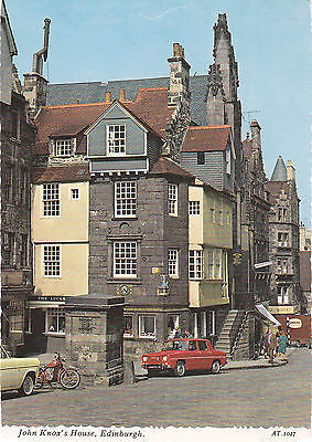 John Knox's House, Edinburgh Postcard - Cakcollectibles - 1