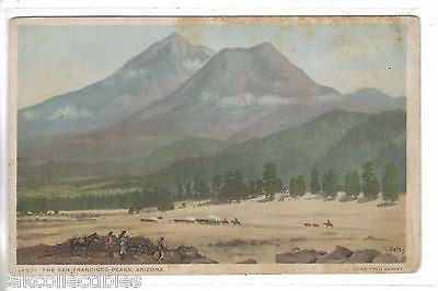 The San Francisco Peaks-Arizona (Fred Harvey) - Cakcollectibles
