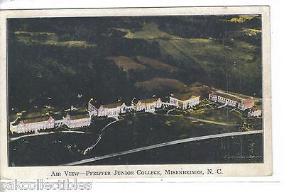 Aerial View-Pfeiffer Junior College-Misenheimer,North Carolina 1940 - Cakcollectibles