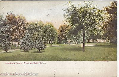 Cochran Park-Council Bluffs,Iowa UDB - Cakcollectibles