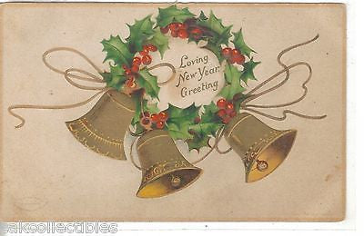 Loving New Year Greeting -Clappsaddle - Cakcollectibles - 1