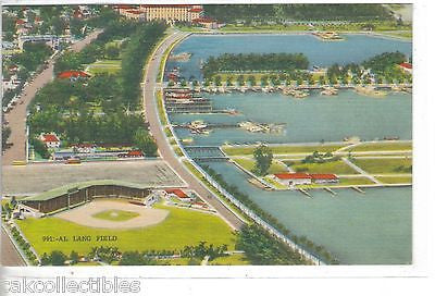 Aerial View-Al Lang Field-St. Petersburg,Florida - Cakcollectibles