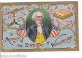 In Memory of The Birthdy of Washington - Cakcollectibles - 1