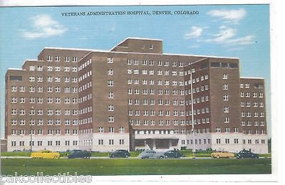 Veterans Administration Hospital-Denver,Colorado - Cakcollectibles
