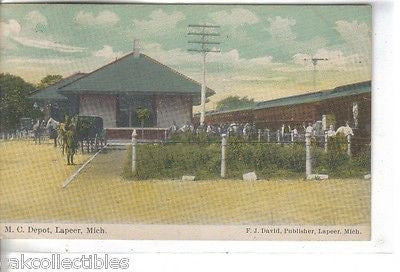 M.C. Depot-Lapeer,Michigan 1910 - Cakcollectibles - 1