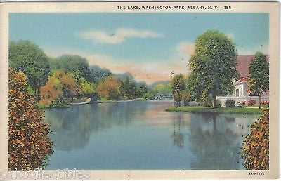 The Lake,Washington Park-Albany,New York - Cakcollectibles