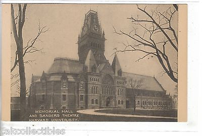 Memorial Hall and Sanders Theatre,Harvard University-Cambridge,Massachusetts - Cakcollectibles