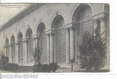 Facade of Palace of Liberal Arts-The Pan Pac Int. Expo 1915 - Cakcollectibles