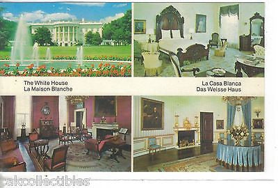 Multi View Post Card-The White House-South Front-Washington,D.C. - Cakcollectibles
