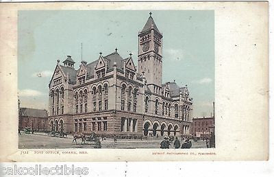 Post Office-Omaha,Nebraska UDB - Cakcollectibles