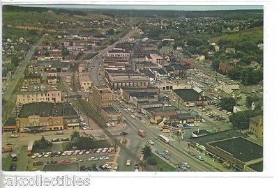 Aerial View of Stephenson Avenue,Looking North-Iron Mountain,Michigan - Cakcollectibles - 1