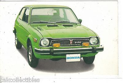 Honda Civic CVCC-Vintage Post Card - Cakcollectibles - 1
