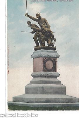 Hicks Soldiers' Monument-Oshkosh,Wisconsin - Cakcollectibles