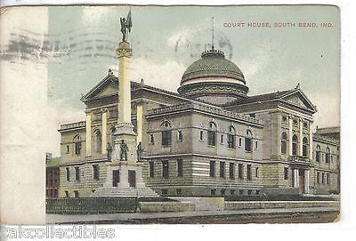 Court House-South Bend,Indiana 1909 - Cakcollectibles - 1