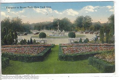 Entrance to Bronx Park-New York City - Cakcollectibles