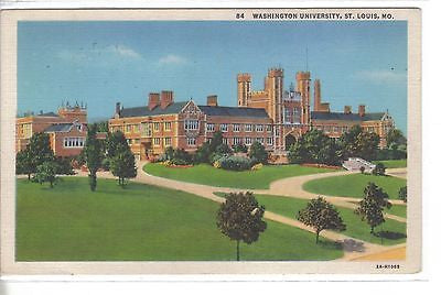 Washington University-St. Louis,Missouri 1934 - Cakcollectibles