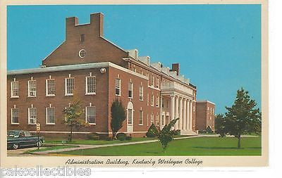 Administration Building,Kentucky Wesleyan College-Owensboro,Kentucky - Cakcollectibles