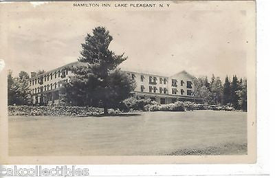 RPPC-Hamilton Inn-Lake Pleasant,New York  1949 - Cakcollectibles - 1
