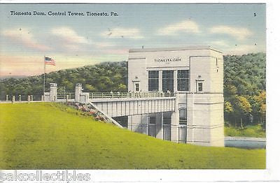 Control Tower,Tionesta Dam-Tionesta,Pennsylvania - Cakcollectibles