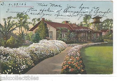 A California Bungalow 1906 - Cakcollectibles