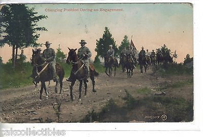 Early Post Card-Changing Positions During an Engagement-Calvary 1911 - Cakcollectibles