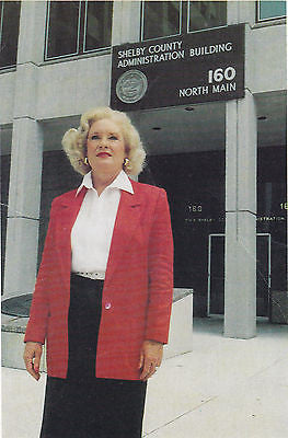 Carolyn H. Gates District 4 Board Of Commisioners Re-Elect Postcard - Cakcollectibles - 1