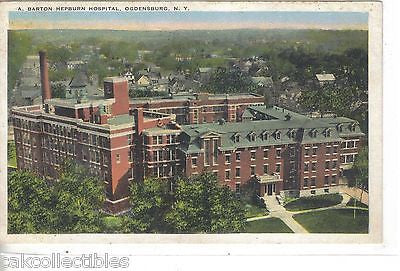 A. Barton Hepburn Hospital-Ogdensburg,New York - Cakcollectibles