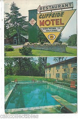 Cliffside Motel and Restaurant-Harpers Ferry,West Virginia - Cakcollectibles