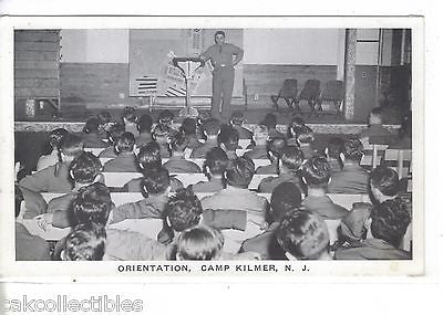 Orientation at Camp Kilmer,New Jersey - Cakcollectibles - 1