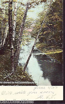 Old Canal and Tow Path-South Windham,Maine 1907 - Cakcollectibles