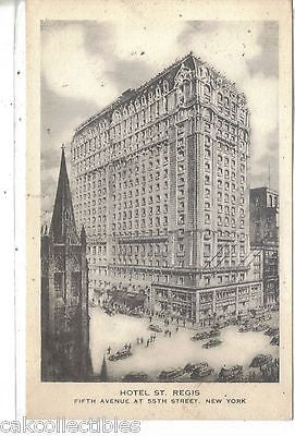 Hotel St. Regis-New York City - Cakcollectibles - 1