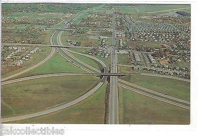 Aerial View-Exit 50,New York Thruway-New York - Cakcollectibles