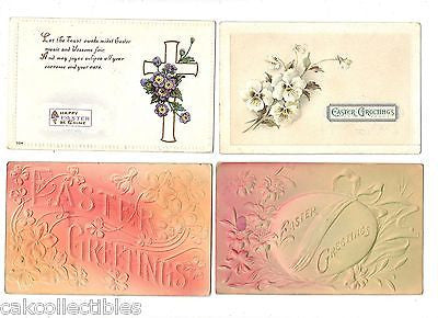 Lot of 4 Antique Easter Post Cards-Lot 49 - Cakcollectibles - 1