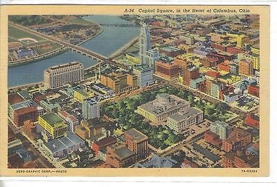 Capitol Square in The Heart of Columbus,Ohio - Cakcollectibles