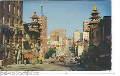 California Street Cable Cars 1956 - Cakcollectibles