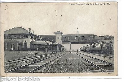 Union Passenger Station-Kenova,West Virginia 1941 - Cakcollectibles - 1