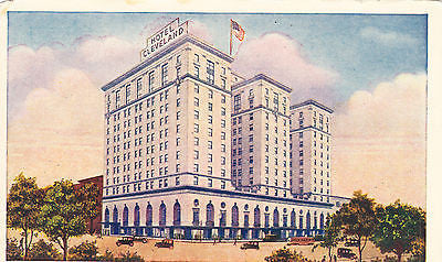 Hotel Cleveland Postcard - Cakcollectibles