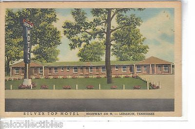 Silver Top Motel-Lebanon,Tennessee 1957 - Cakcollectibles