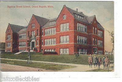 Sigsbee Street School-Grand Rapids,Michigan 1912 - Cakcollectibles - 1