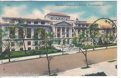 National Geographic Society-Washington,D.C. 1950 - Cakcollectibles