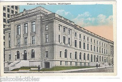 Federal Building-Tacoma,Washington - Cakcollectibles